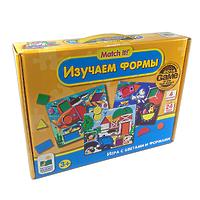 """Пазл LJ """"Изучаем формы"""" игра с цветами и формами"""