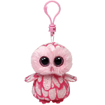"Мягкая игрушка Beanie Boo's ""Совенок Pinky"" розовый 13см"