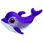 """Мягкая игрушка Beanie Boo's """"Дельфин Flips"""" 15см"""