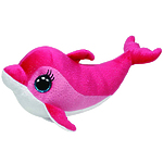 "Мягкая игрушка Beanie Boo's ""Дельфин Surf"" 23 см"
