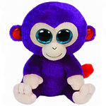 "Мягкая игрушка Beanie Boo's ""Обезьянка Grapes"" 33 см"