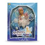 """Кукла Brilliance Fair """"Фея"""" 27 см, с аксессуарами: набор для феи, диадема и волшебная палочка"""