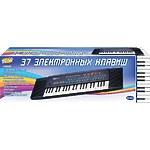 """Синтезатор """"Пианино электронное"""" 37 клавиш, 80см, работает от внешнего адаптера 220V"""