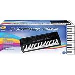 """Синтезатор """"Пианино электронное"""" 54 клавиши, 78см,  работает от внешнего адаптера 220V"""
