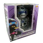 """Игрушка """"Робот"""" радиоуправляемый, 28см, черный, свет, звук, стрельба"""
