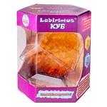 Лабиринтус Куб, 10см, жёлтый, прозрачный