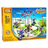 Электромеханический конструктор Loz Park. Серия: Парк развлечений. Качели для двоих