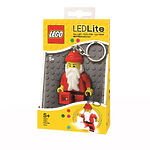 Брелок-фонарик для ключей Lego Classic - Santa Claus