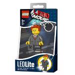Брелок-фонарик для ключей Lego Movie - President Business