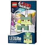 Брелок-фонарик для ключей Lego Movie - Queasy Kitty