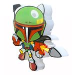 """Пробивной мини 3D светильник """"StarWars"""" (Звёздные Войны) - Boba Fett (Боба Фетт)"""