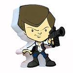 """Пробивной мини 3D светильник """"StarWars"""" (Звёздные Войны)-Han Solo (Хан Соло)"""