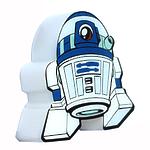 """Пробивной мини 3D светильник """"StarWars"""" (Звёздные Войны)-R2-D2 (Артудиту)"""