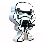 """Пробивной мини 3D светильник """"StarWars"""" (Звёздные Войны)-Stormtrooper (Штормтрупер)"""