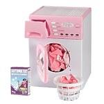 """Стиральная машина """"Casdon"""" корзина и порошок для белья в комплекте, цвет розовый"""