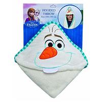 """Плед с капюшоном """"Frozen"""" (Холодное сердце) - Olaf, размер 100х100 см"""