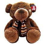 """Мягкая игрушка """"Медведь в шарфе"""", 145 см"""