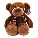 """Мягкая игрушка """"Медведь с бантом"""", 60 см, 2 цвета"""