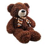 """Мягкая игрушка """"Медведь коричневый с бантом"""", 70 см"""