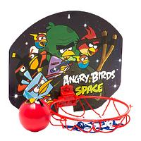 Баскетболный щит Angry Birds, с кольцом