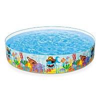 """Надувной детский бассейн """"Рыбы"""", 244х46 см"""