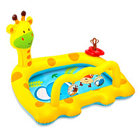 "Надувной детский бассейн ""Жираф"", 112х91х72 см"