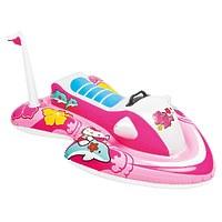 "Надувной детский плот ""Hello Kitty"", 117х77 см"