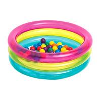 Надувной бассейн с шариками, 86х25 см