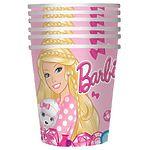"""Стакан бумажный """"Барби"""" 210 мл, 6 шт"""