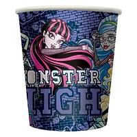"""Стакан бумажный Monster High """"Граффити"""" 210 мл, 10 шт"""