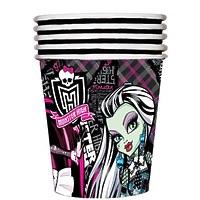 """Стакан бумажный Monster High """"Страшно красивые"""" 210 мл, 10 шт"""