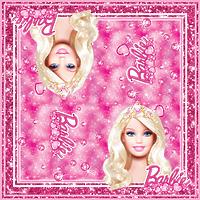 """Салфетки бумажные Барби """"Принцесса"""" 33х33 см, 20 шт"""