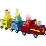 """Игровой набор Peppa Pig """"Поезд Пеппы-неваляшки"""""""