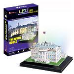 "3D-пазл ""Белый дом"" с иллюминацией"