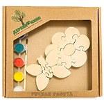 """Развивающая игрушка """"Цветок с бабочкой"""" с красками"""