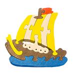 """Развивающая игрушка """"Кораблик"""" с красками"""