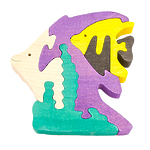 """Развивающая игрушка """"Рыбки"""" с красками"""