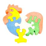 """Развивающая игрушка """"Петушок 3"""" с красками"""