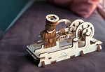 Пневматический двигатель 3D пазл
